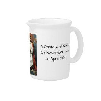 Alfonso x el Sabio Pitcher