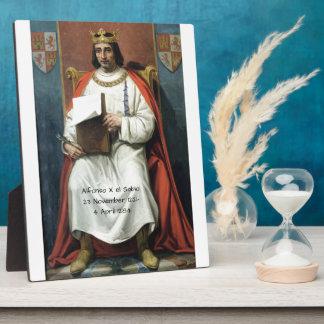 Alfonso x el Sabio Plaque