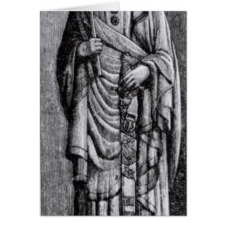 Alfonso X  'the Wise', King of Castile Card