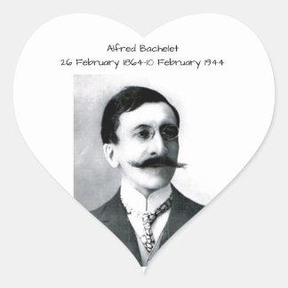 Alfred Bachelet Heart Sticker