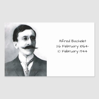 Alfred Bachelet Rectangular Sticker