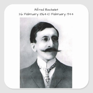 Alfred Bachelet Square Sticker