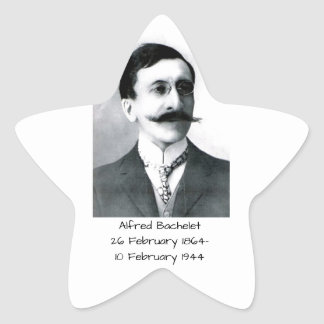 Alfred Bachelet Star Sticker