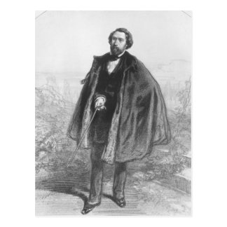 Alfred de Musset Postcard