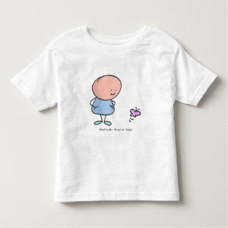 Alfred Doodle and the butterfly Toddler T-Shirt