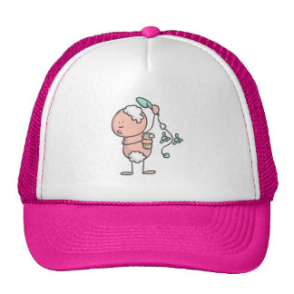 Alfred Doodle in the shower scene Mesh Hat