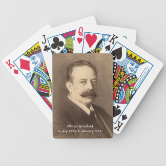 Alfred Grunfeld Bicycle Playing Cards