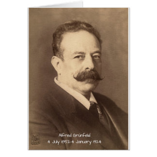 Alfred Grunfeld Card