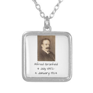Alfred Grunfeld Silver Plated Necklace