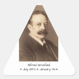 Alfred Grunfeld Triangle Sticker