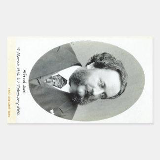 Alfred Jaell Rectangular Sticker