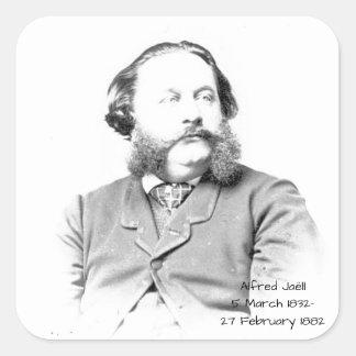Alfred Jaell Square Sticker