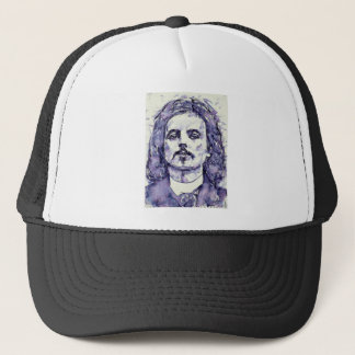 alfred jarry - watercolor portrait.2 trucker hat
