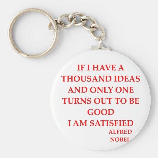 alfred nobel key chains