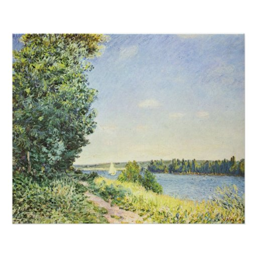 Alfred Sisley 2 Poster