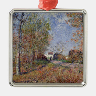 Alfred Sisley | A Corner of the Woods at Sablons Metal Ornament