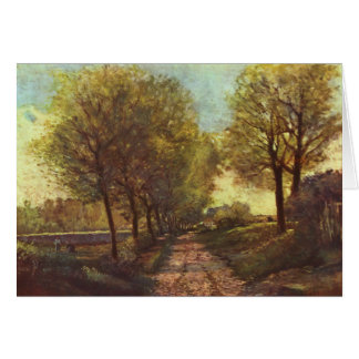 Alfred Sisley Avenue of Trees Card