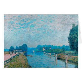 Alfred Sisley - Bords de riviere Orillas Card