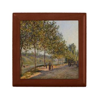 Alfred Sisley - June Morning in Saint-Mammès Small Square Gift Box