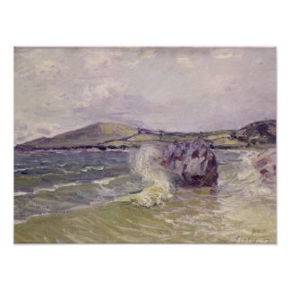 Alfred Sisley | Lady's Cove, Langland Bay, Le Mati Poster