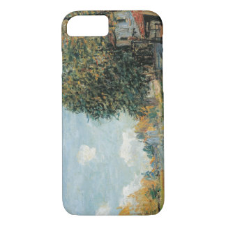 Alfred Sisley - Moret-The Banks of the River Loing iPhone 7 Case