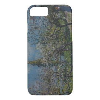 Alfred Sisley - Orchard in Spring, By iPhone 7 Case