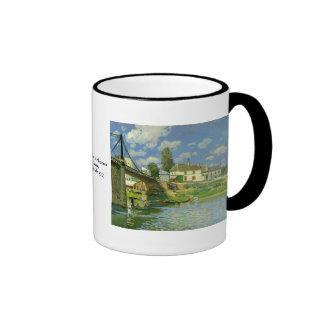 Alfred Sisley Ringer Mug