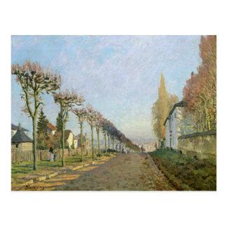 Alfred Sisley | Rue de la Machine, Louveciennes Postcard