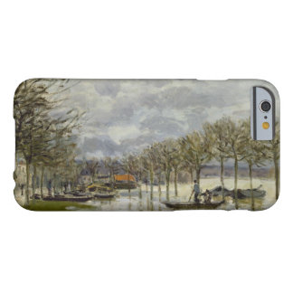 Alfred Sisley - The Flood on the Road Barely There iPhone 6 Case