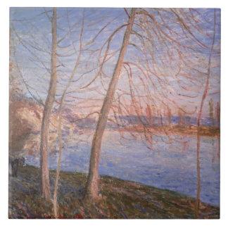 Alfred Sisley | Winter Morning Tile