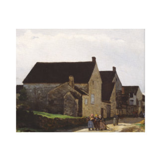 Alfred Sisley - Women Going to the Woods Canvas Print