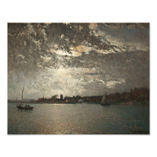 Alfred Wahlberg - Moonlight Mood, The Stockholm Photo Print