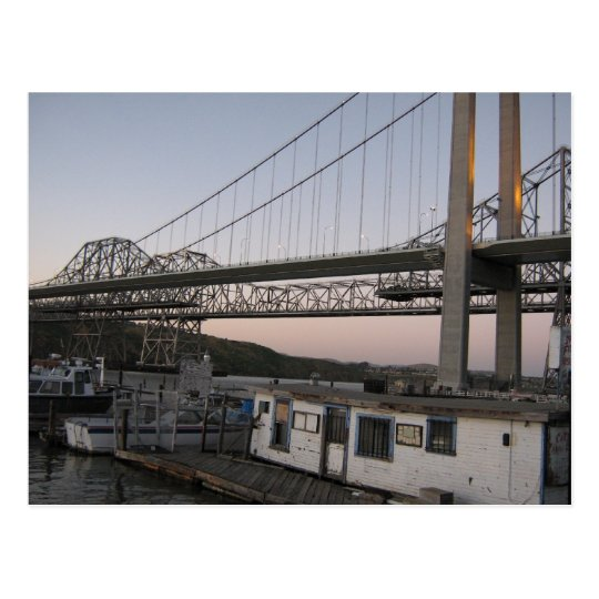 Alfred Zappa Memorial Bridge Postcard