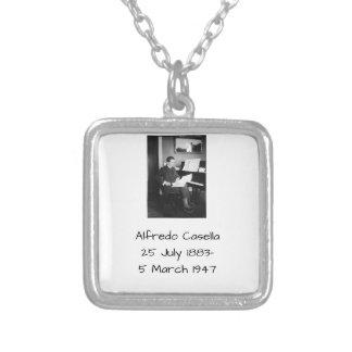 Alfredo Casella Silver Plated Necklace