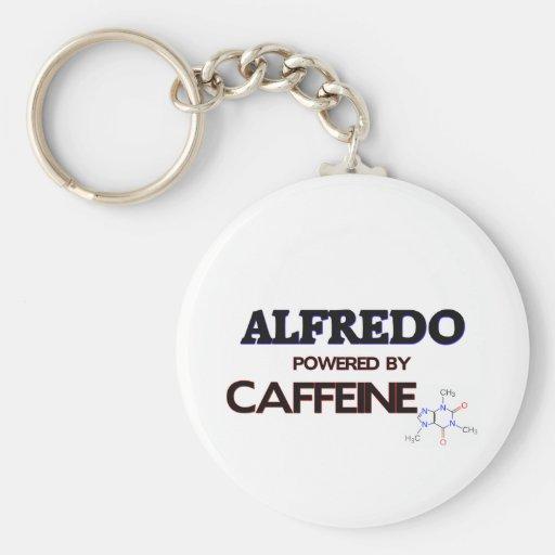 Alfredo powered by caffeine keychain