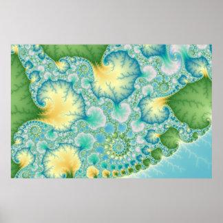 Algae - Fractal Poster