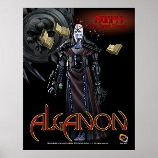Alganon Xukiss Deity Poster
