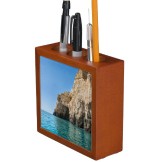 Algarve coast desk organizer