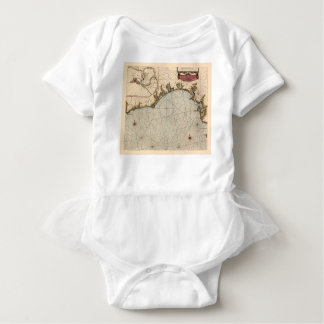 Algarve Portugal 1690 Baby Bodysuit