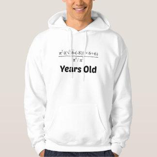 Algebra Equation 90th Birthday Hoodie