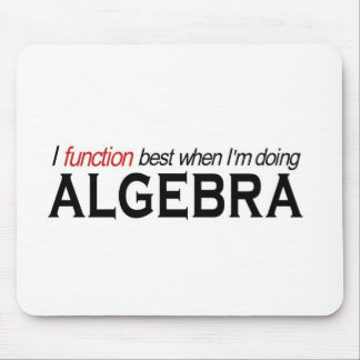 Algebra _ I function best Mouse Pad