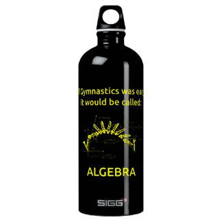 Algebra is a piece of cake SIGG traveller 1.0L water bottle