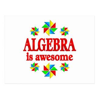 Algebra is Awesome Postcard