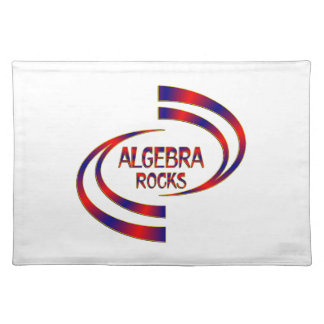 Algebra Rocks Placemat