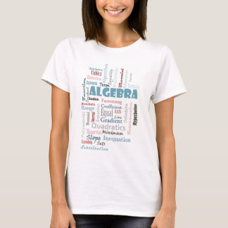 Algebra Vocabulary T-Shirt