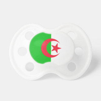 Algeria  0-6 month old Flag  Pacifiers