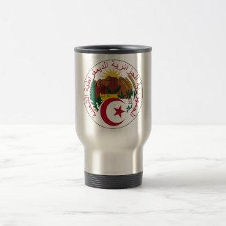 Algeria Coat of Arms Travel Mug