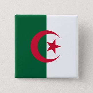 Algeria Flag 15 Cm Square Badge