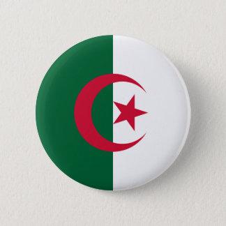 Algeria Flag 6 Cm Round Badge