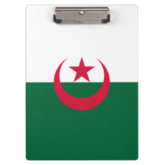 Algeria Flag Clipboard